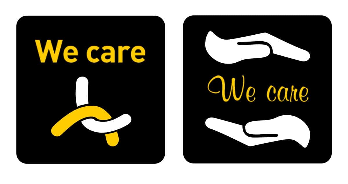 Logodesign We Care