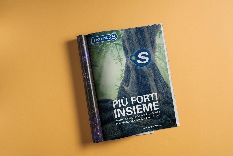 Studio e realizzazione immagine del brand Point S Italia