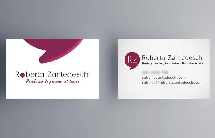 Brand design per Roberta Zantedeschi